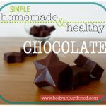 Simple homemade & healthy chocolate