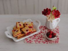 Miniature Cherry Bars For Your Dollhouse 1/12 Scale by Anna Kerley