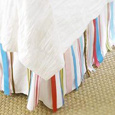 Ribbon Bed Skirt