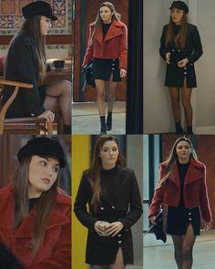 Fashion Tv, Cute Fashion, Fashion Outfits, Beautiful Women Videos, Tv Show Outfits, Street Looks, Turkish Fashion, Looks Chic, Clothing Hacks