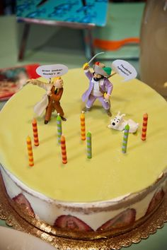 Tintin Birthday Party cake
