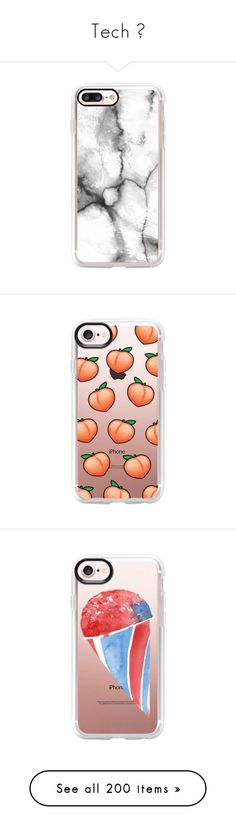 """""""Tech 📱"""" by lit-roses ❤ liked on Polyvore featuring accessories, tech accessories, phones, phone cases, iphone case, clear iphone case, iphone cover case, white marble iphone case, marble iphone case and white iphone case"""