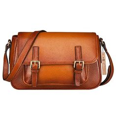 SZONE Womens Vintage Cow Leather Purse Crossbody Handbag Satchel Shoulder Bags Messenger Bag *** Want additional info? Click on the image.