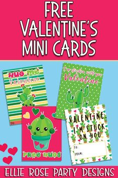 Check out these cute Cactus Valentine Cards. Great for your kids lunch boxes. Free to download and use as many times as you want. click through to download #freeprintables #valentineskidsideas #ideasforkidsvalentines Happy Valentine Day HAPPY VALENTINE DAY | IN.PINTEREST.COM WALLPAPER EDUCRATSWEB