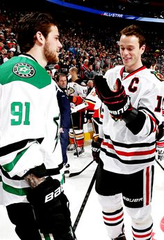 TS91 & JT19 ..pinning this for the guy in between Segs and Tazer in the background. He looks to have a hockey boy crush going on.