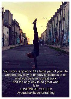 LOVE WHAT YOU DO! #yogashaktiteachertraining Join us tonight for a FREE Information Session at Yoga Shakti Irvine at 6:30pm #ashleegoite Yoga Inspiration, Believe In You, Free, Cuisine
