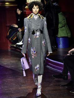 So könnte die neue H&M und Kenzo-Kooperation aussehen - ein Look aus der Kenzo-Winterkollektion für 2016/2017....