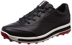 3a72cd567 The removable inlay soles on these mens cool pro gore-tex golf shoes by Ecco  offer enhanced breathability and optional wider fit for optimal comfort!