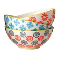 Great bowl to fill with your fave muesli!   Daisy Bowl