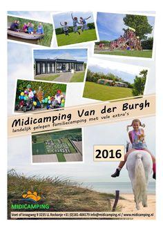 Midicamping Van der Burgh  Magazine 2016 met Ollie op de flyer 💙