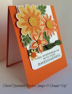 2014-16 In Colors, Flower Fair Framelits dies, Flower Patch Stamp SetFlower Patch In Color side