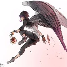 GoGo winged! AU