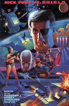 Cover for Nick Fury Vs. S.H.I.E.L.D. (1988 series) #6