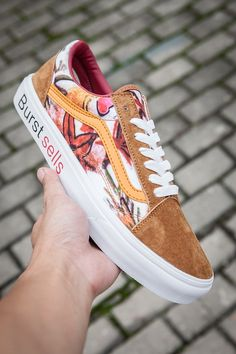 4349dde695e87a Vans Old Skool California CamoFloral Burstsells 303 Skateboard Shoes