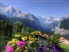 Wengen, The Jungfrau - Switzerland - Pixdaus