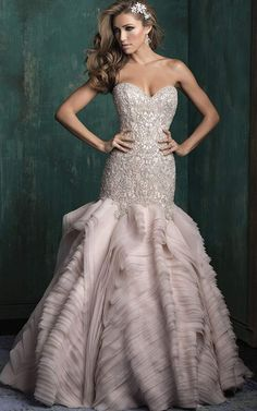 pastel wedding dress #2