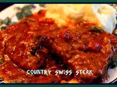 Country Swiss Steak! Recipe