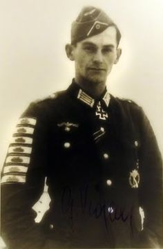 Hauptmann Günther Viezenz holds the record for the number of Tank Destruction Badges awarded. He single handedly destroyed 21 enemy tanks with hand held explosives, such as a panzerfaust, satchel charge or hand grenade. He was awarded four Tank Destruction Badges in Gold and one in Silver.