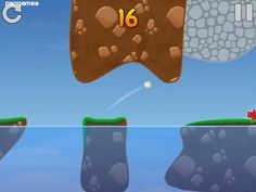 Pukka Golf - Hit the ball in the air as many times as you want Pukka, Mobile Game, Golf, Times, Wave, Polo Neck