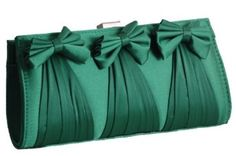 emerald green  ornaments and fashion accessories | ... Party Evening Clutch Bag Handbag Emerald Green: Amazon.co.uk: Clothing