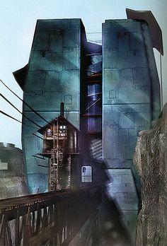 Depot - Half-Life Wiki Life Wiki, Alien Planet, Half Life, Video Game Art, Concept Art, Sci Fi, Scene, Landscape, Artwork