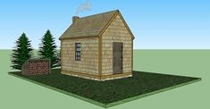 Picture Thoreau's Cabin (replica) at Walden Pond front view (courtesy of Wiki)Picture Thoreau's cabin (replica) side view (courtesy of Wiki)Picture Cabin Design inspired by ThoreauPicture .