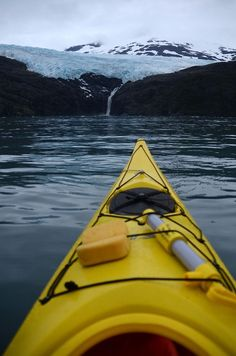 Glacier Kayak, Alaska photo by tatedrucker