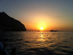 In a sunset #capri #italy