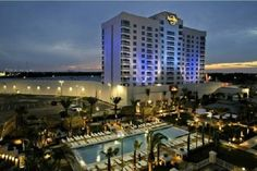 Seminole Hard Rock Hotel & Casino, Tampa, stay and play - yep, there goes the pool I was speaking of!