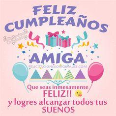 Tarjeta De Feliz Cumpleaños Tía Felicitaciones