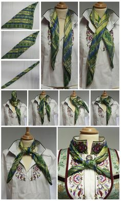 STAKKELAND dust: To tie the scarf to the national costume!