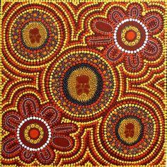Australian Aboriginal Art Dot Paintings Symbols Aboriginal Artwork Drawings & Sculpture by pam Aboriginal Art Dot Painting, Aboriginal Art Symbols, Aboriginal Artists, Aboriginal Art Australian, Indigenous Australian Art, Indigenous Art, Kunst Der Aborigines, Stippling Art, Cult
