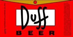 Duff Beer (The Simpsons)