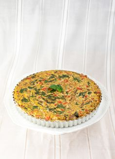 Vegetable Quiche + Herbed Crust — Produce On Parade