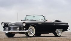 ✿1955 Ford Thunderbird✿ Mustang Boss 302, Mustang Fastback, Ford Mustang, Ford Thunderbird, Ford Motor Company, My Dream Car, Dream Cars, Vintage Cars, Antique Cars