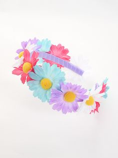 Pastel Floral Headband (website in Japanese)