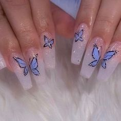 In look for some nail designs and some ideas for your nails? Here is our listing of must-try coffin acrylic nails for trendy women. Edgy Nails, Aycrlic Nails, Stylish Nails, Swag Nails, Coffin Nails, Manicure, Glitter Nails, Grunge Nails, Nails Inc