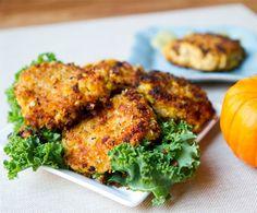 Chickpea Pumpkin Fritters Thanksgiving Recipe