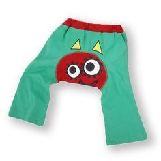 Organic Baby Pants DeDe Green 3-6 MONTHS