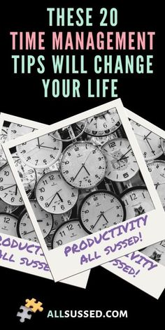 Time Management Tips Everyone Needs To Know   All Sussed