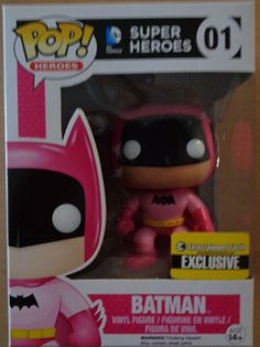 Pink Batman - Vinyl Funko Pop - Entertainment Earth Exclusive - 75th Anniversary…