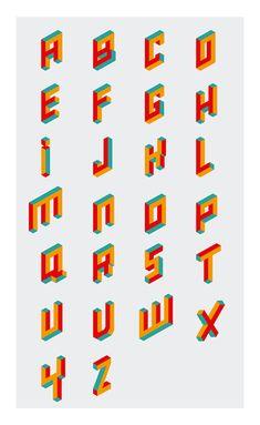 Alphabet Logo Letters on Behance 3d Alphabet, Alphabet Design, Graphic Design Letters, Lettering Design, D Letter Design, Typography Inspiration, Logo Design Inspiration, Design Ideas, Calligraphy Fonts