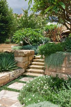 design ideas from an incredible multi-tiered garden
