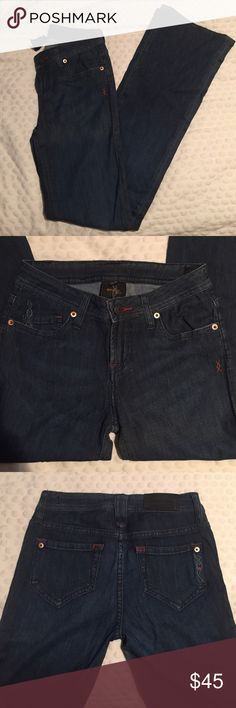Jeans! Size 26 Thin, soft denim. Boot cut.  Barely worn!  Too small for me... Jeans Boot Cut