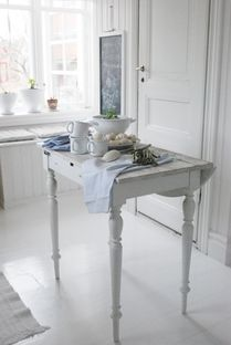 Use my little table for baking and put dishes away?