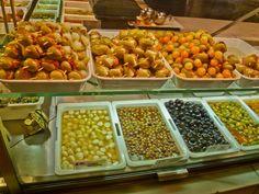 aceitunas en Mercado de San Miguel