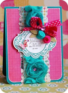 Lea's Cupcakes & Sunshine: Stamper's Dream Blog Hop with JustRite!!