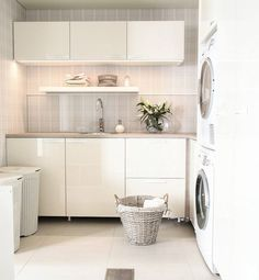 Personalize your home decoration with pretty digital printables. Laundry Room Inspiration, Interior Inspiration, Laundry Room Design, Kitchen Design, Interior Design Living Room, Living Room Designs, Ikea, Dream Bathrooms, Home Kitchens