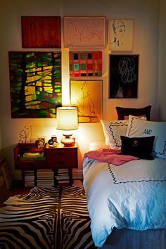gallery wall - image by Graham Atkins  Hughes