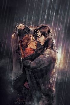 Stunning Illustrations by Alice X. Zhang... I totally ship sherlock and molly.